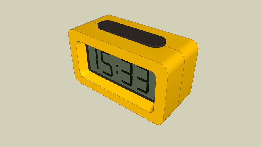 Slabang Alarm Clock Unique