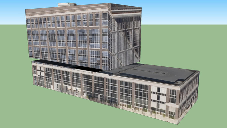 애틀랜타, 조지아 주, 미국의 건물