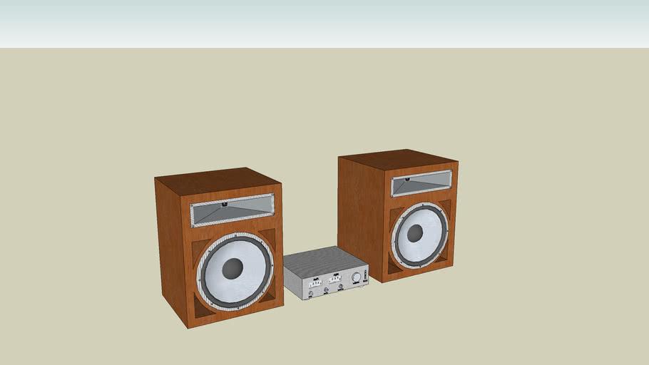 speaker whit amp