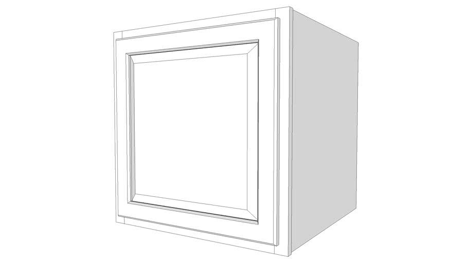 """Briarwood Wall Cabinet 24W2424 - 24"""" Deep, One Door"""