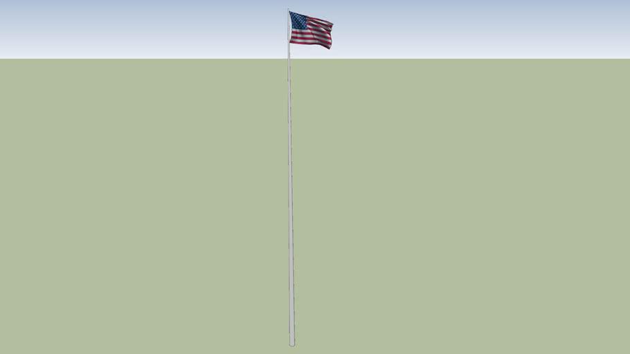 196 Bridge St (flag pole)