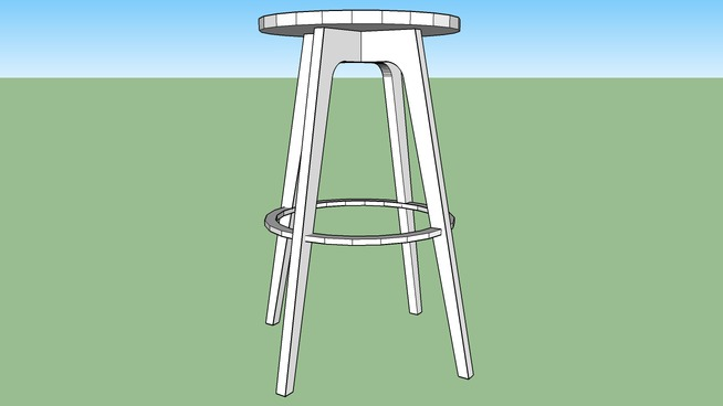 Excellent Klismos Stool 3D Warehouse Inzonedesignstudio Interior Chair Design Inzonedesignstudiocom
