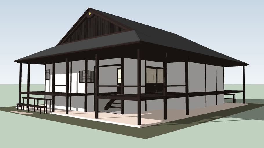 My first Japanese-style house