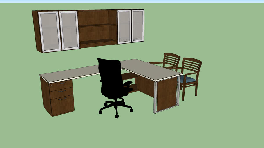 Private Office - left hand - extra small