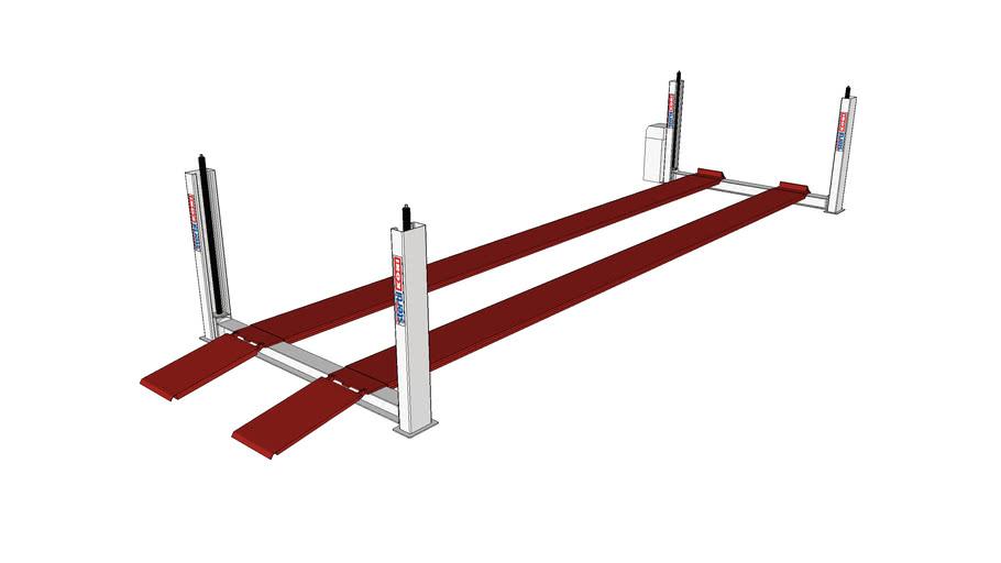 Stertil-Koni Heavy Duty 4-Post Platform Lift (Bus and Truck Lift) ST4120
