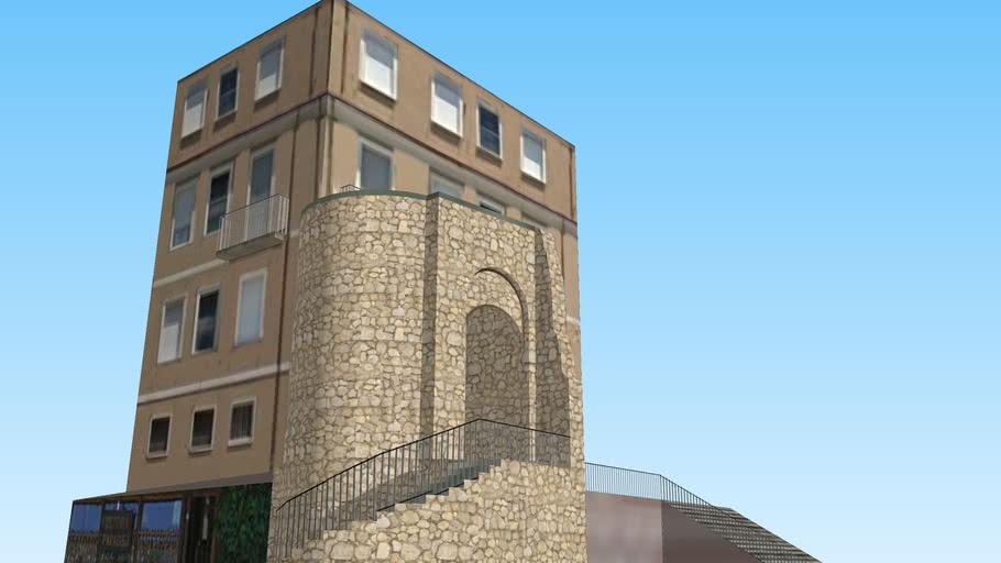Piazza Andrea d'Isernia - Isernia - parte I