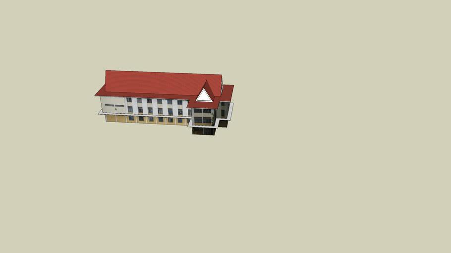 students hostel ,designed by basat .a. mohamed  (SV: prof .Dr .Anuar Ahmad)