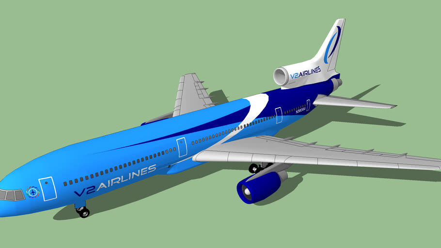 V2 Airlines (2012 [FICTIONAL]) - Lockheed L-1011-250 TriStar
