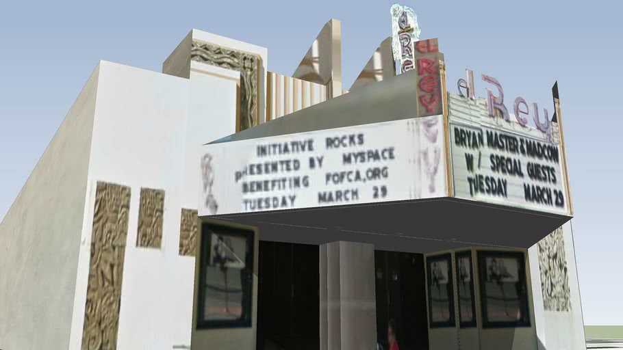 El Rey Theatre, Los Angeles