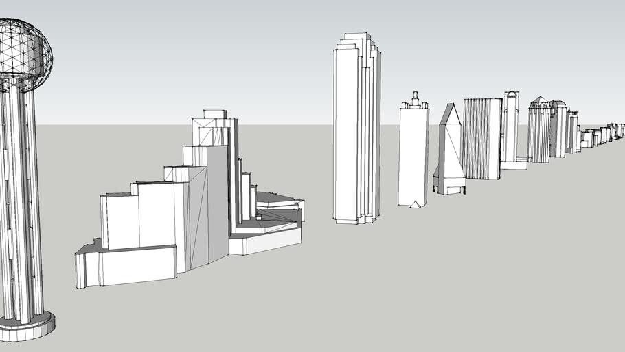 Downtown Dallas Buildings