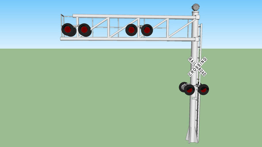 cantilever crossing signal