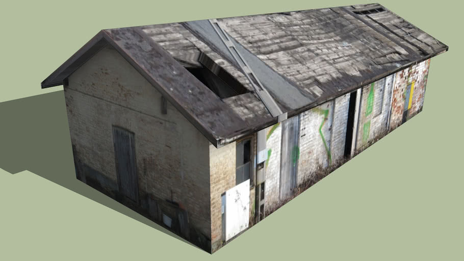 Leeres Haus in Oberschleißheim