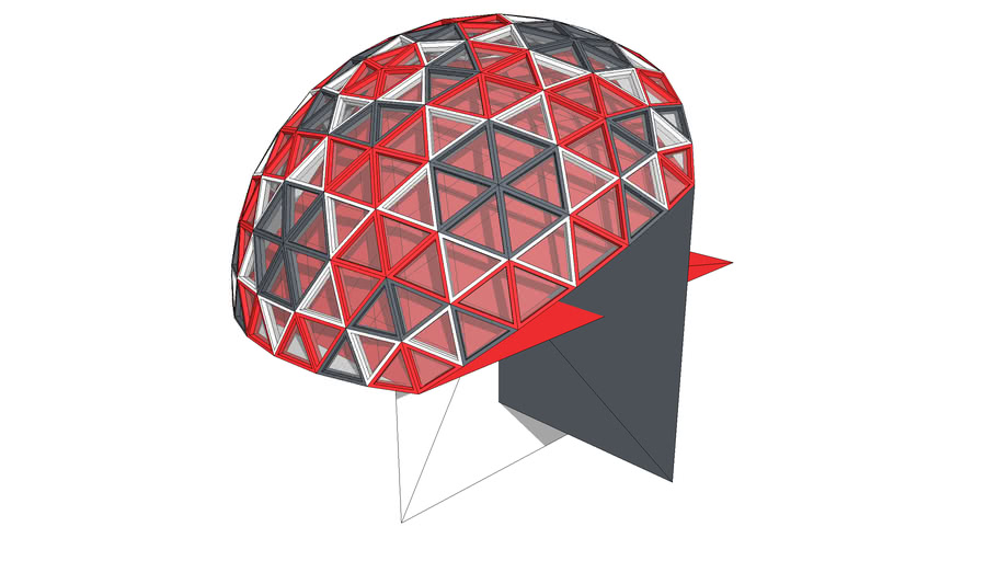 BiMUp 5D - Geodesic Dome 6V Frame