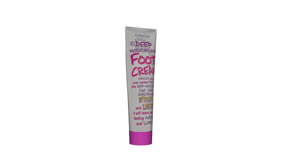 Cream foot