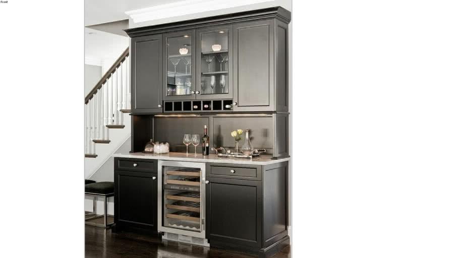 Wine Cabinet 3d Warehouse