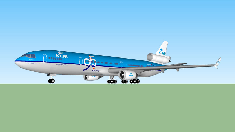 KLM MD-11 95 Years Livery