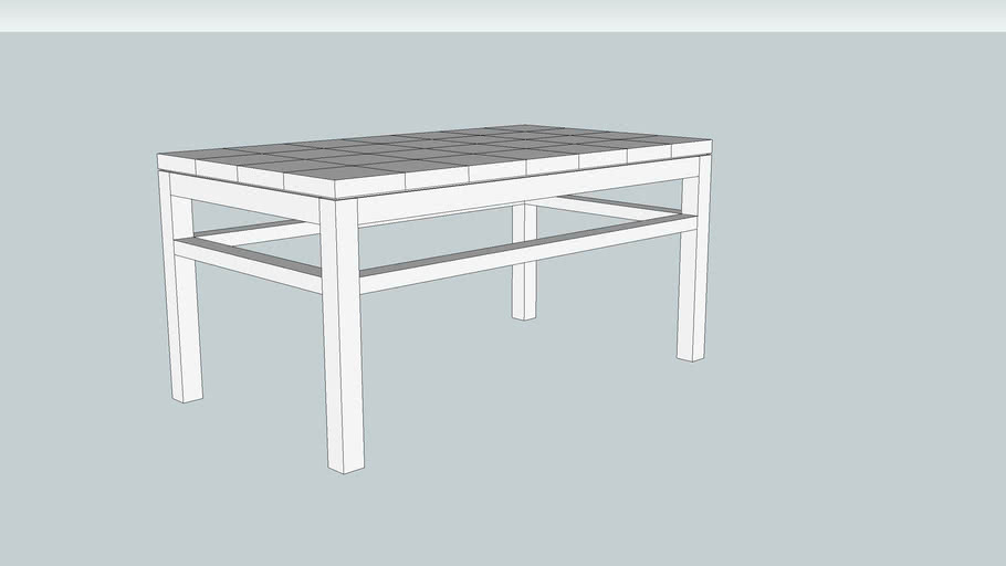Contemporary Coffee Table from the August 2014 Issue of Popular Woodworking Magazine