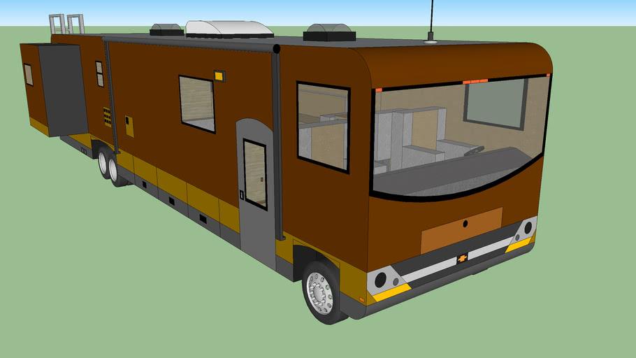 big camping car