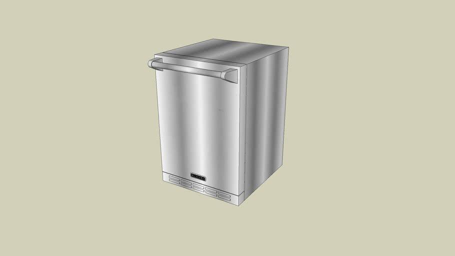 KORU06RSSS_KitchenAid_Outdoor_Undercounter/Freestanding_Refrigerator