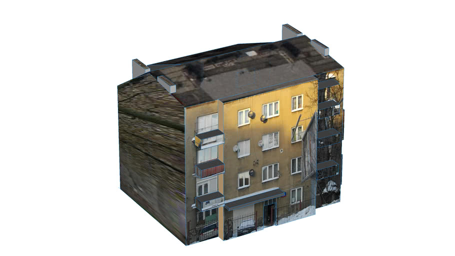 Budynek przy Górczewskiej, Warszawa, Polska