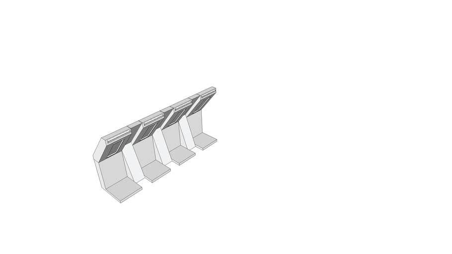 slanted high tech walls