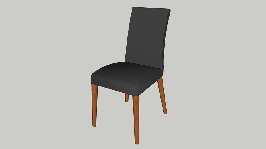 low poly dining chair