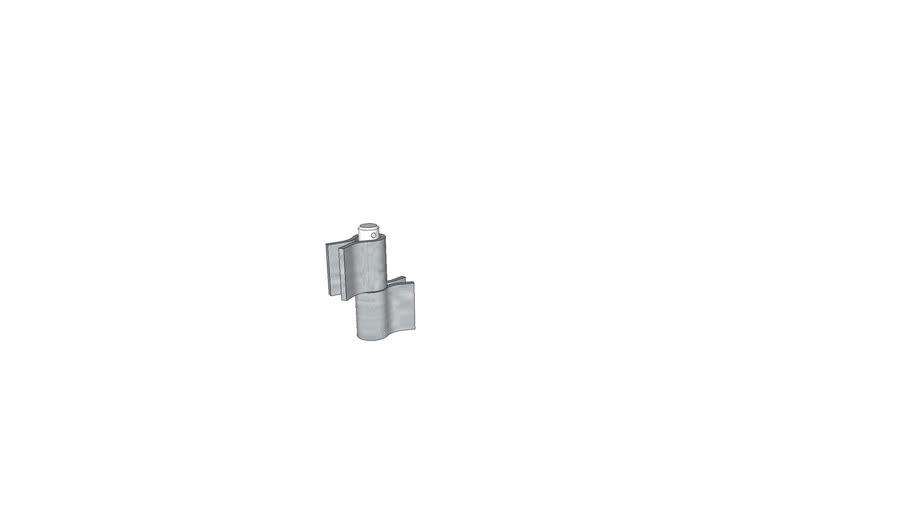 20mm Pin and Socket Hinge