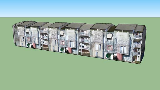 Bâtiment à Rochepleine