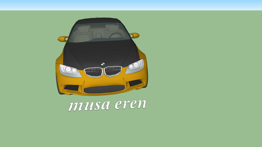 bmw tuned chek in 3d mod