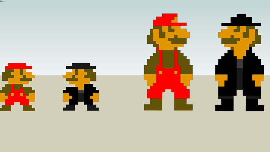 Mario vs. Undertaker Mario