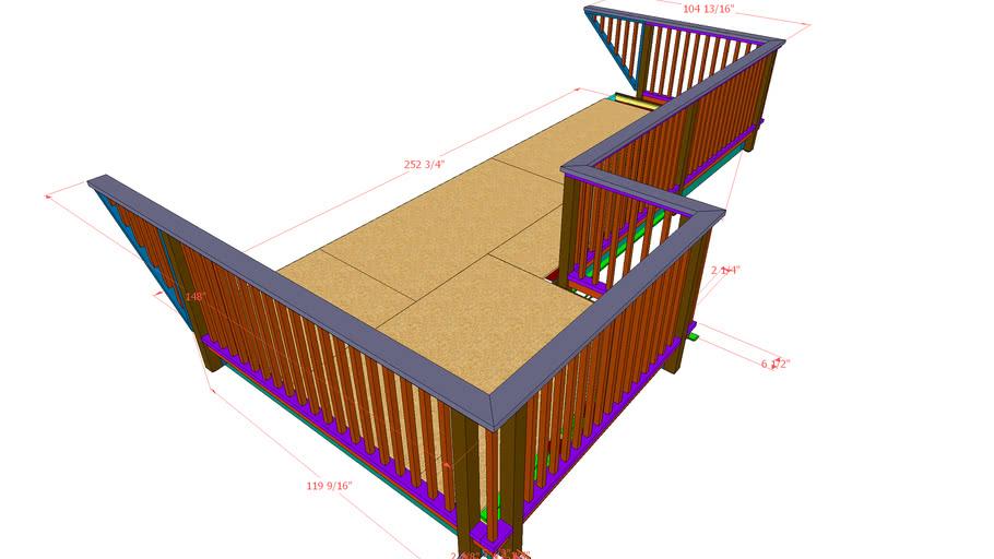 Deck & Roof Combination
