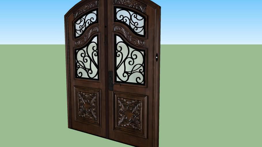 high poly door