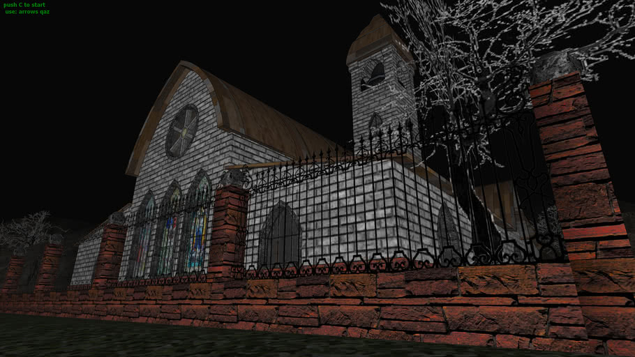 halloween church (caution, contains BLOOD)