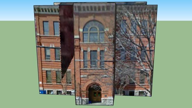 First Ave Public School in Ottawa, ON, Canada 011212