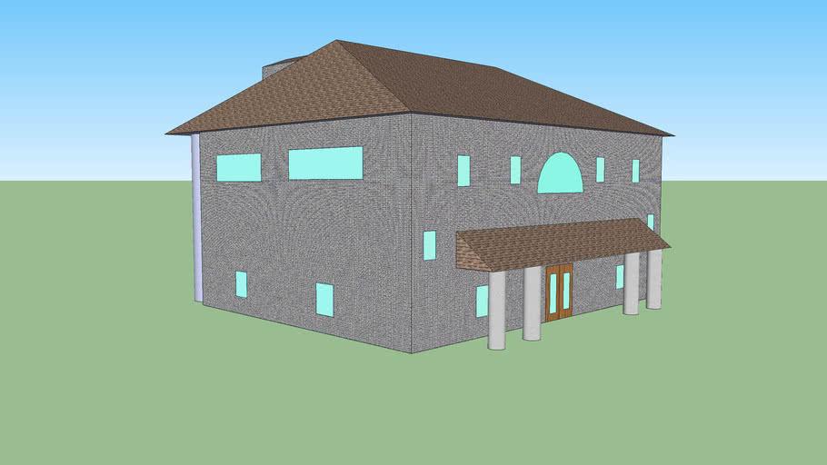3D Mansion Model