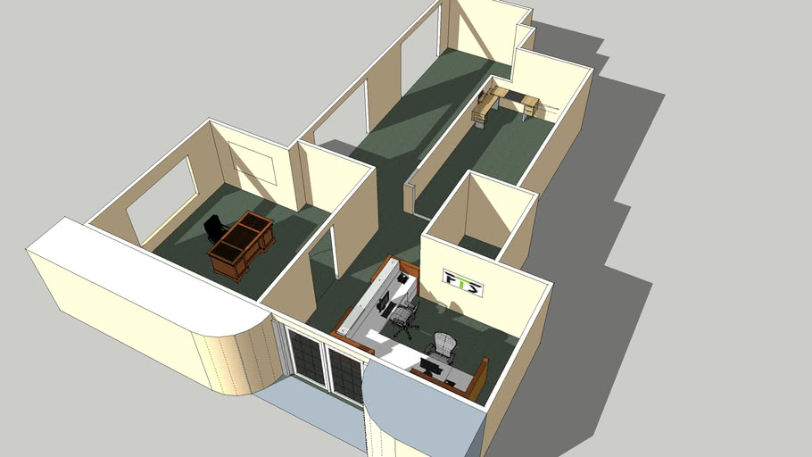 Small Office Layout 3d Warehouse