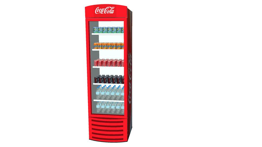 Freezer com Refrigerantes - Coca Cola