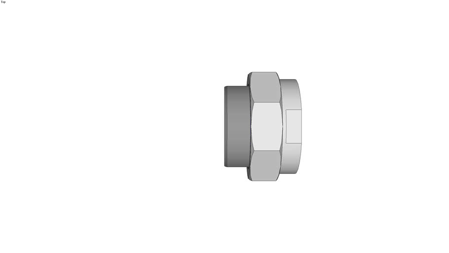 Raccords union � port�e conique - Femelle - femelle - Inox 316 L - Gaz - NPT