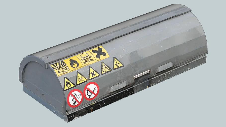Protective box (type 1). Statoil Fuel&Retail, Riga, Latvia