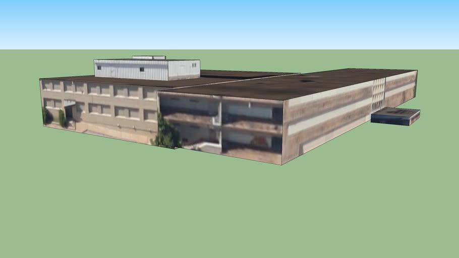 俄克拉荷马城奥克拉荷马美国的建筑模型2