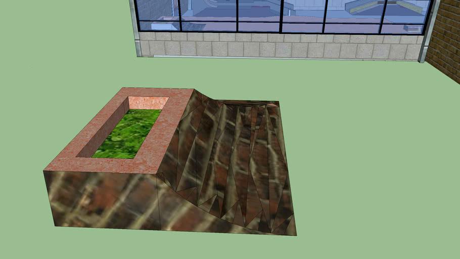 Ramped Planter corner
