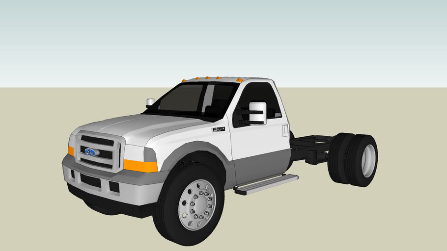 ford f-350 cab and chassis
