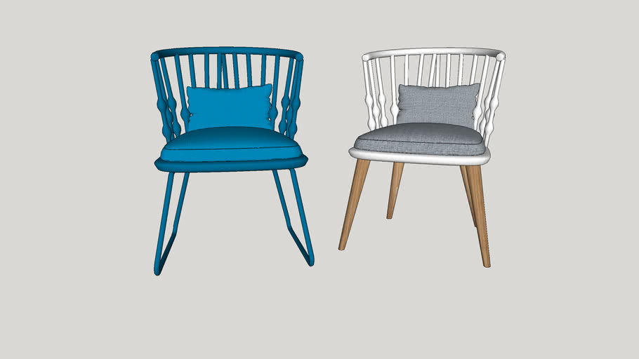 CASUAL CHAIR VRAY 2 AND HIGHER RENDER READY