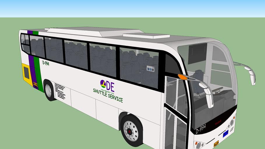 DE Transport Shuttle Service KingLong XMQ6119Y (refurbished and re-engined)