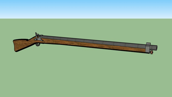 musket - old rifle