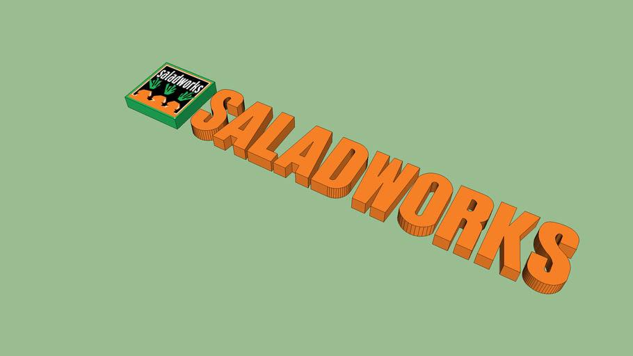 saladworks channel letter sign