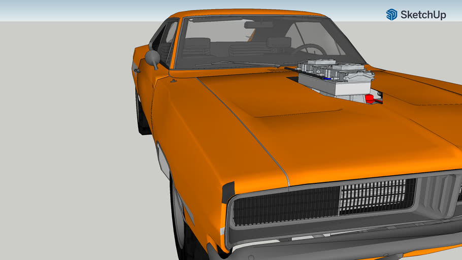 project 1969 dodge charger