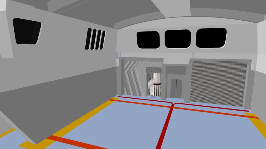 Star trek the motion picture shuttlebay + hangar + cargobay
