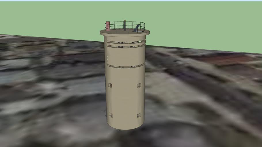 Fort Miles Coast Artillery Fire Control Tower 25