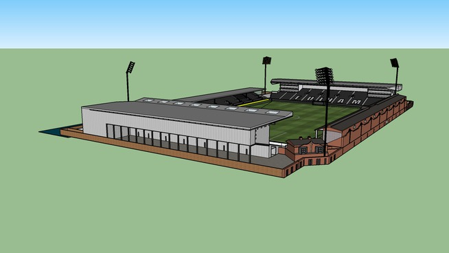 High Detail Craven Cottage (PLEASE RATE AND REVIEW)